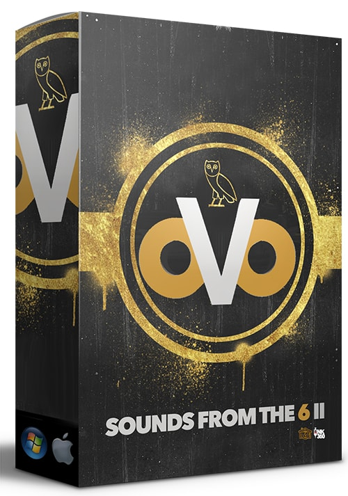 Free OVO Sounds From The 6 II Drum Kit 2017
